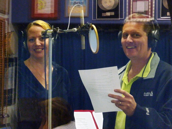Scott & Mandy Recording